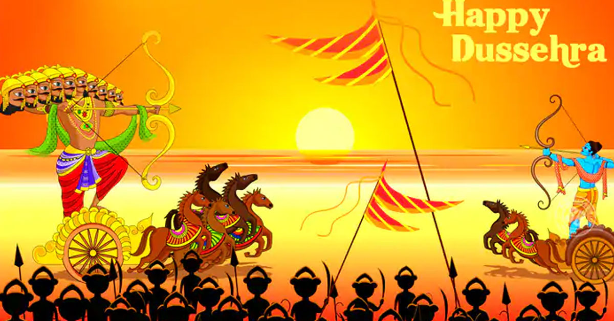 Celebrate The Festival Of Dussehra With Great Pomp And Splendor
