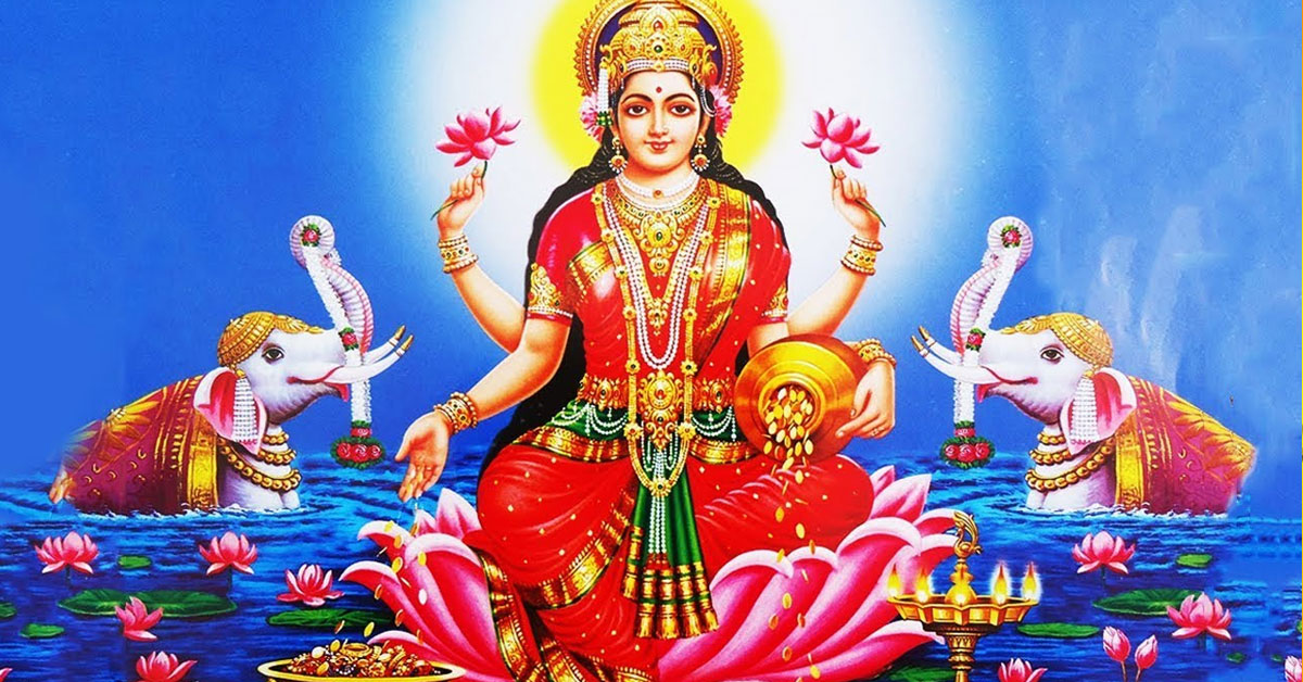 Mahalakshmi is the Hindu goddess of wealth and Fortune